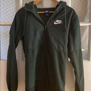 ✨3 for $20✨Forest Green Nike Hoodie